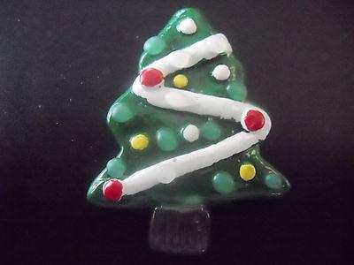 Christmas Tree Pin, CMI/ Henton, X-Mas, Brooch, Lights and Ornaments