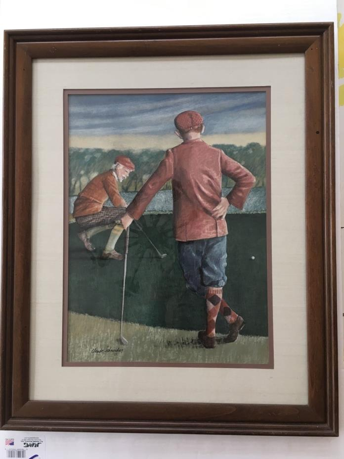 Golf Art Prints For Sale Classifieds