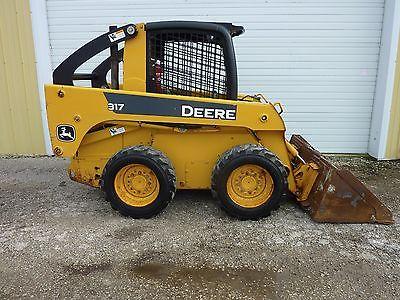 2007 John Deere 317 Skid Steer