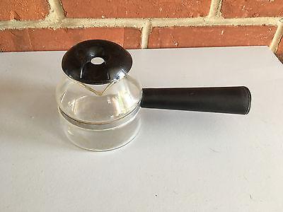 Mr. Coffee Espresso Maker ECM3CK Glass Carafe with Lid Black Trim