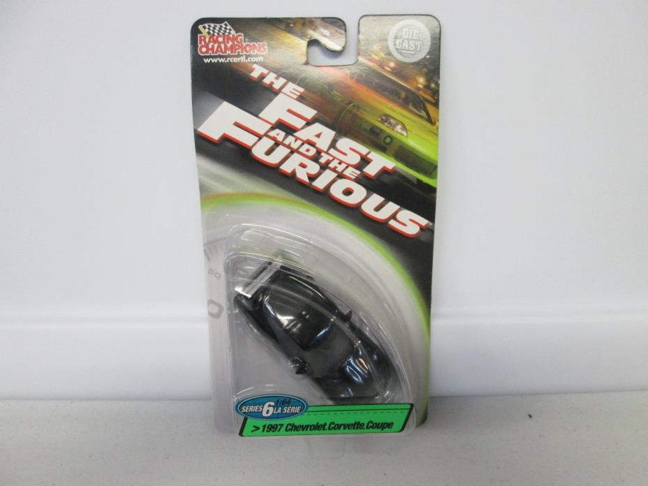 Racing Champions The Fast and The Furious 1997 Chevrolet Corvette Coupe