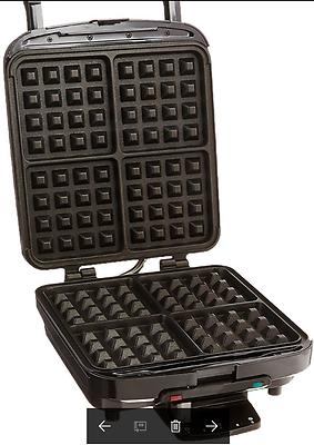 Cuisinart griddler waffle plates  WAF-150 4-Slice Belgian Waffle