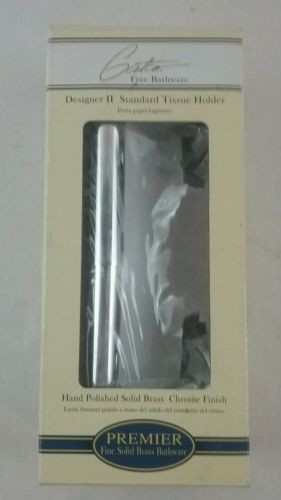 Gatco Designer 2 Standard Tissue Holder Solid Brass-Chrome Finish -5043 NEW