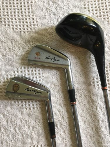Vintage Ben Hogan Golf Clubs.