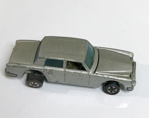 Rolls Royce Silver Shadow Hotwheels Redline Bearing Style