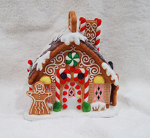 Partylite Gingerbread Tealight House P7304 NIB