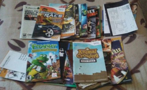 Huge Lot of Video Game Manuals To Complete Your Game