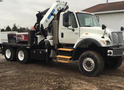 2006 International 7500 6x6 With Effer 370 6s+3