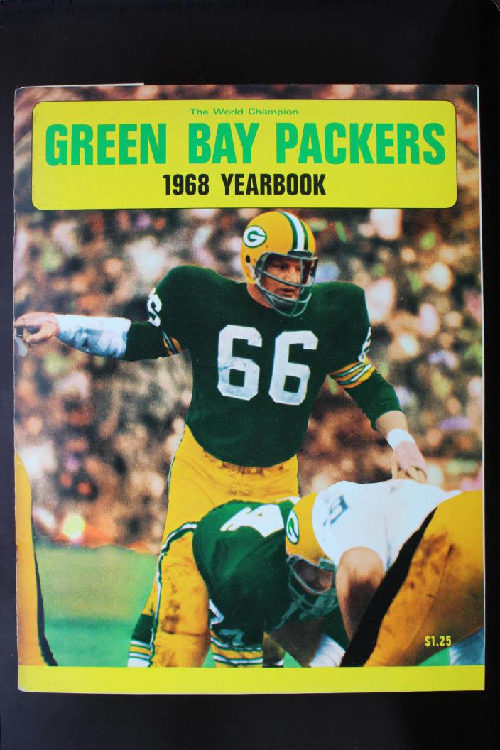 1968 Green Bay Packers Yearbook EX condition