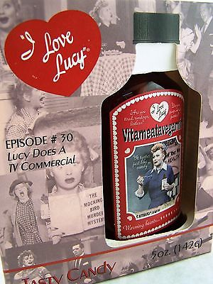 I Love Lucy Vitameatavegamin Candy Bottle in Box