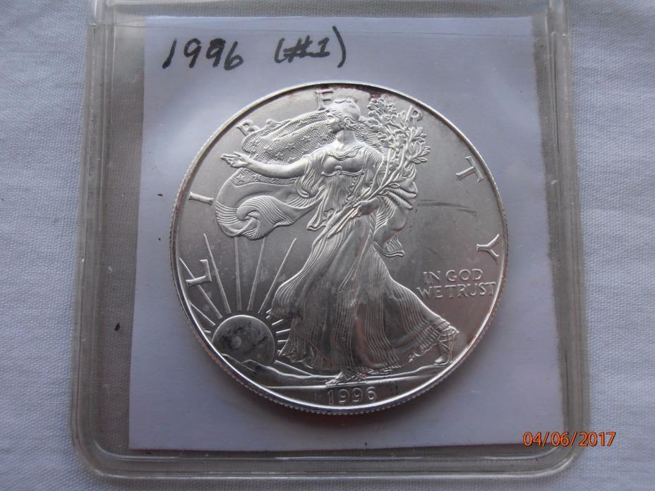 1996 American Silver Eagle Dollar Key Date