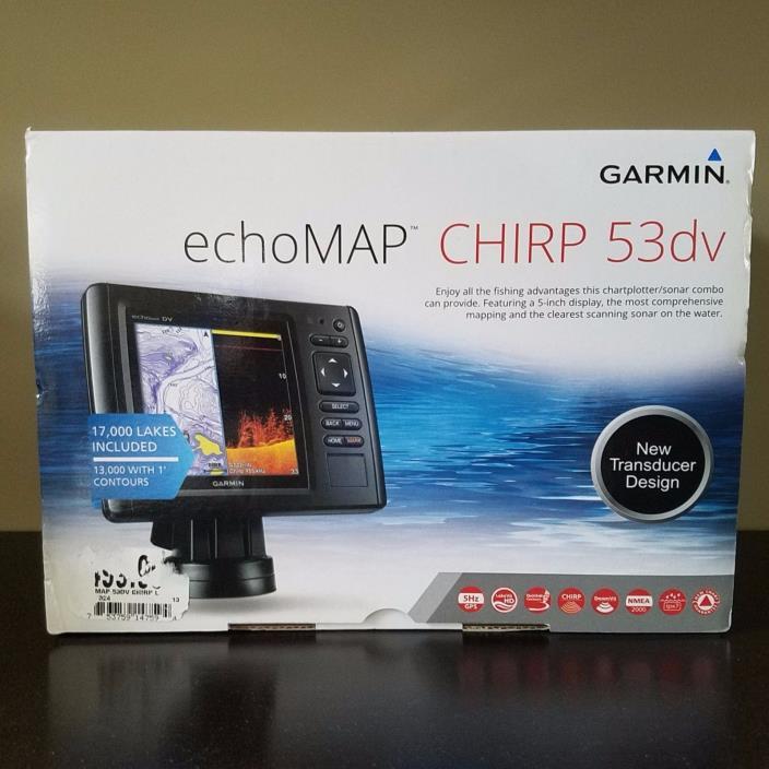 Garmin echoMAP Chirp 53dv 5