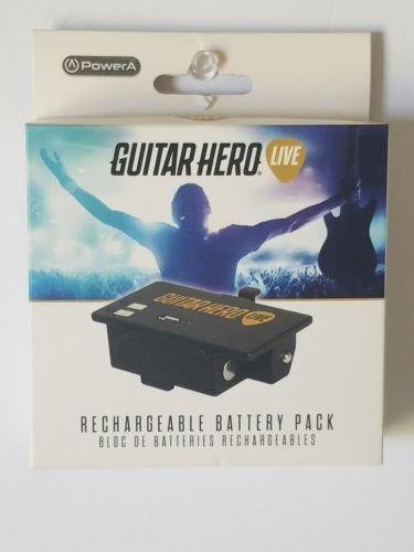 PowerA Rechargeable Guitar Power Battery Pack Guitar Hero wireless Guitar NEW