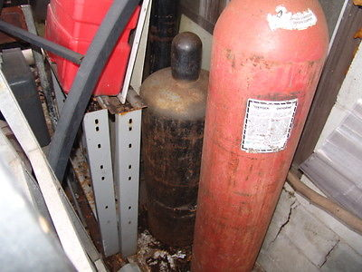 Oxygen - Acetylene Tanks and Welding Kit - See Description -