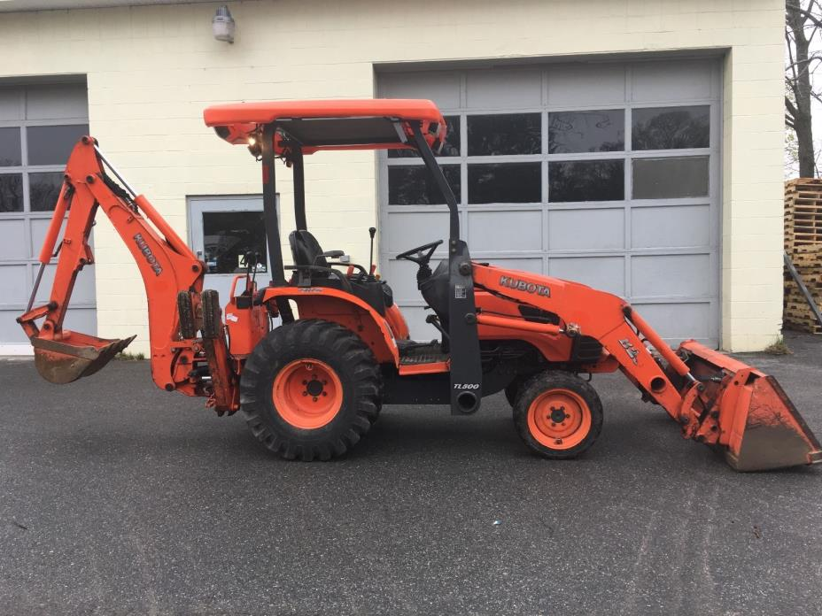 2007 KUBOTA B26 BACKHOE  LOADER TRACTOR 4X4 HYDROSTATIC WORK READY