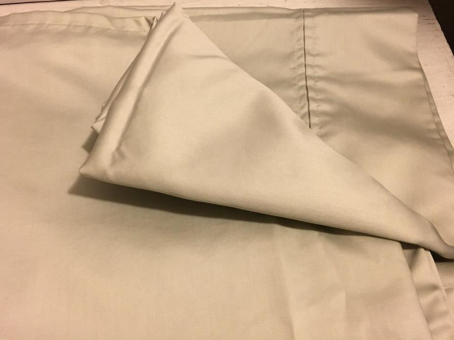 RALPH LAUREN SOFT DOVE GRAY FLAT SHEET QUEEN