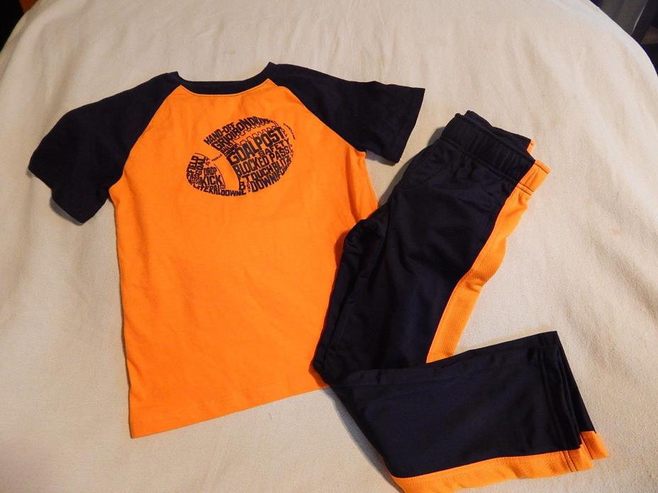 NWT 7 8 7-8 GYMBOREE GYMGO TOP & PANTS