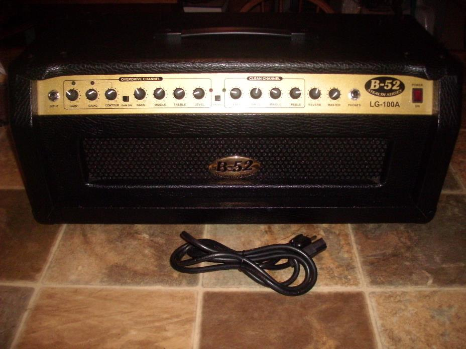 B-52 LG-100A Guitar Amp Amplifier Head - 100W