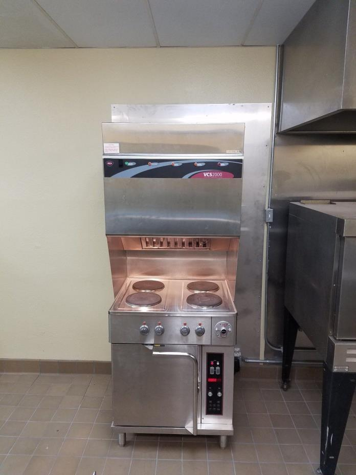 Ventless Hood Wells Vcs2000 WVOC-4HF Convection Oven and cooking system