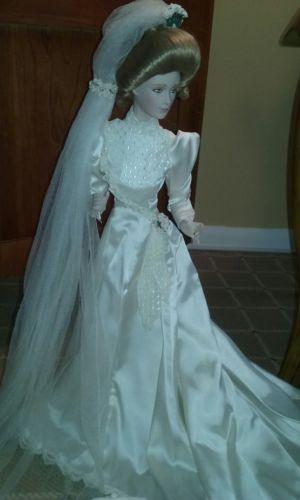 Franklin Mint Heirloom Gibson Bride Doll