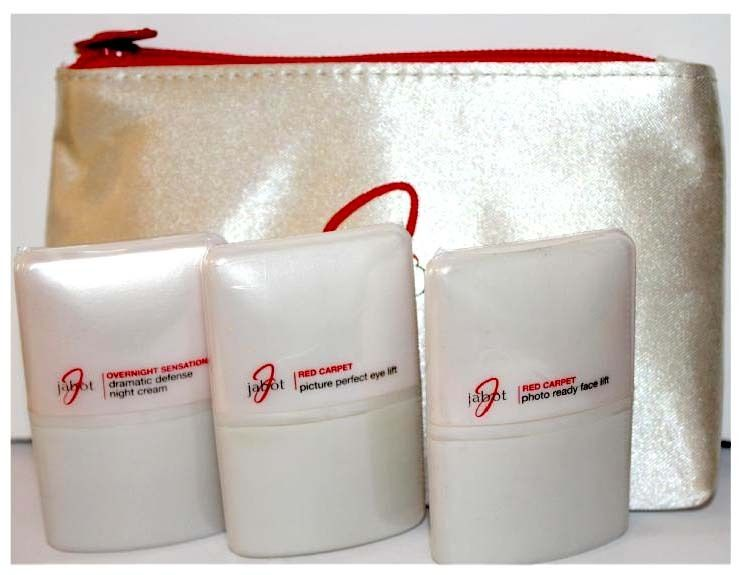 JABOT 3 Item Kit Including Dramatic Defense Night Cream, Photo Ready Face Lift