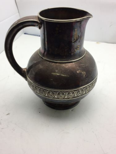 Gorham Silver Plated Water Pitcher