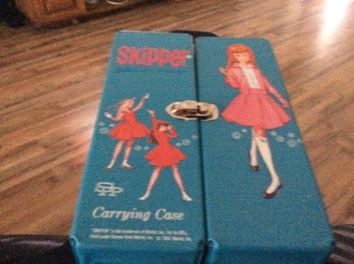 Skipper's Carrying Case Blue Mattel 1964 Mattel Inc