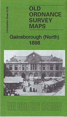 JUST RELEASED, HIGHLY DETAILED ORDNANCE SURVEY MAP, GAINSBOROUGH (NORTH) 1898