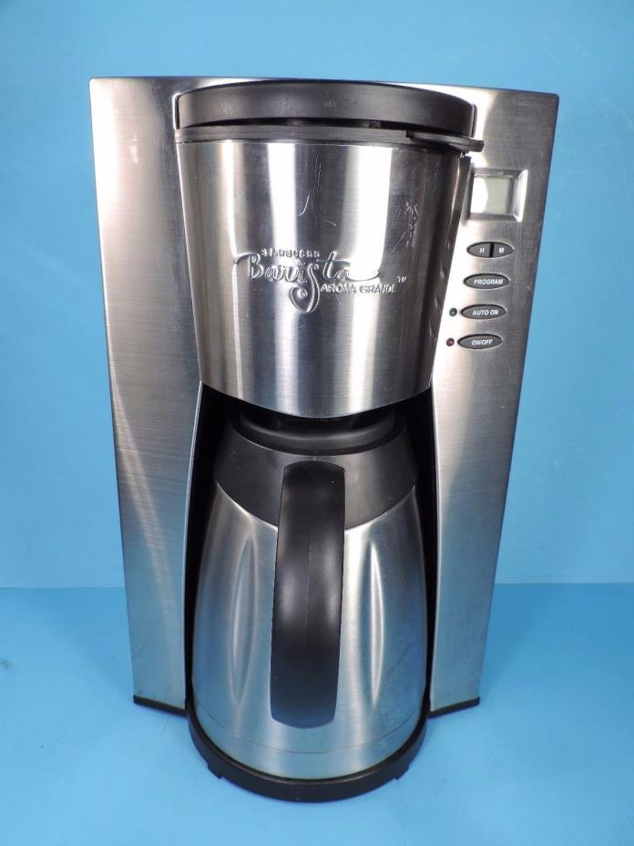 Starbucks Barista Coffee Maker Filter : Thermal Coffee Maker - For Sale Classifieds