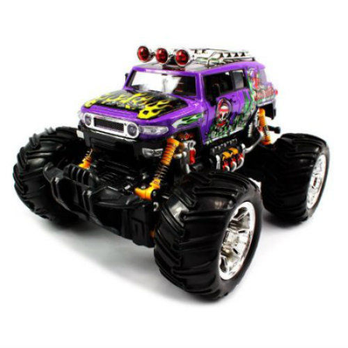 Grave Digger Remote Control Monster Truck 1:16 Fun Play Kids Toy Multi Function