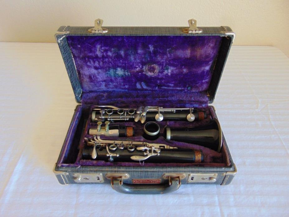 Vintage Normandy Reso-Tone Clarinet