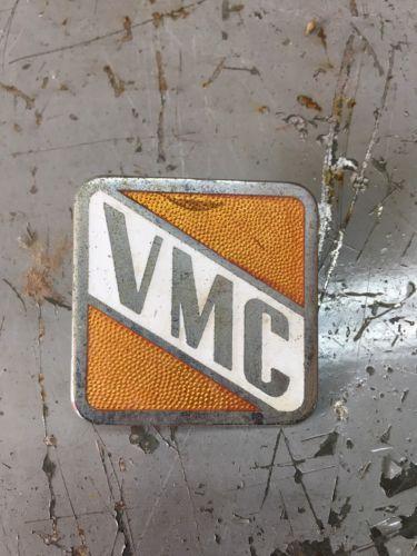 Original Vintage VMC 27 33 Porcelain Emblem Vendo Coca Cola Coke Machine Rare