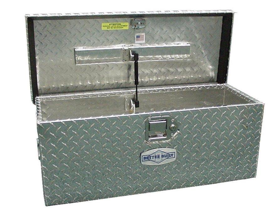 Truck Pickup ATV Tool Box Storage, Aluminum Plate, For Equipment Vehicle Travel