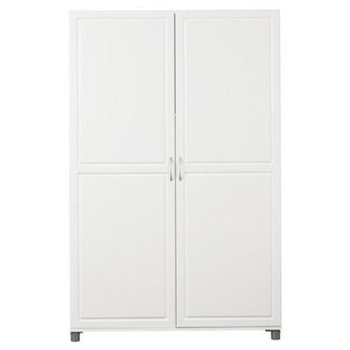 Armoire Wardrobe Cabinet White Closet Dresser Storage Bedroom Furniture Jewelry