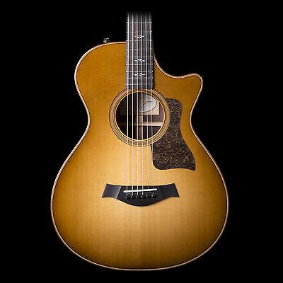 Taylor 712ce Grand Concert Acoustic-Electric Guitar Western Sunburst
