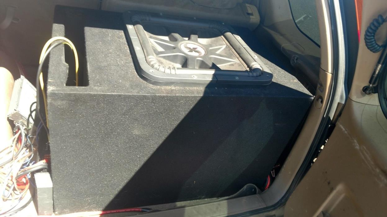 kicker solo x 18 competition subwoofer