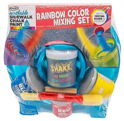 Sidewalk Chalk Paint Mixer (Rose Art) - Outdoor Fun Toy by Mattel (FBY77)