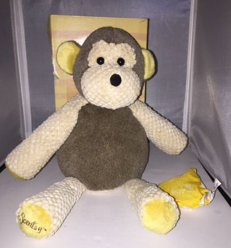 Scentsy Buddy Retired Mollie the Monkey Plush DISPLAY with BOX