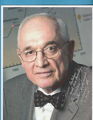 Nick Holonyak Jr (invention of a light-emitting diode (LED) Signed Photograph