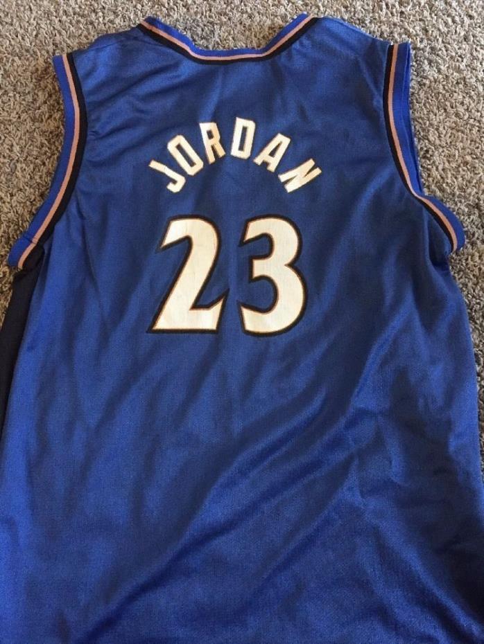 Michael Jordan Washington Wizards Jersey NBA Youth XL Men's Small Champion 40