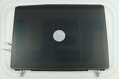 Dell Vostro 1400 Laptop LCD Top Back Cover Lid WY781 Black CCFL Grade B Tested