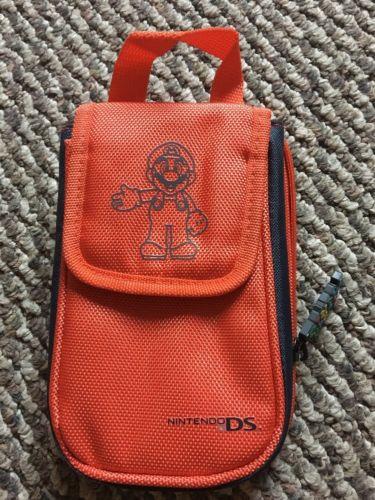 Nintendo DS Super Mario Bros Orange Carry Case Bag