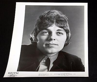 1960's KEITH Vintage 8x10 Mercury Press Photo #1 James Bazza Keefer 98.6