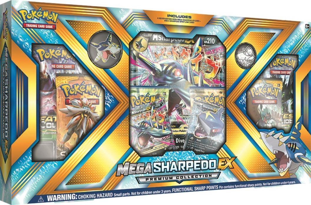 Pokemon TCG Mega SHARPEDO EX Premium Collection Trading Card Game