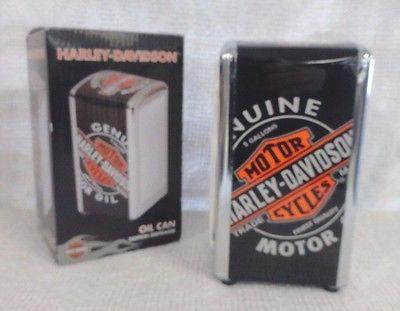 Harley Davidson Oil Can Napkin Dispenser