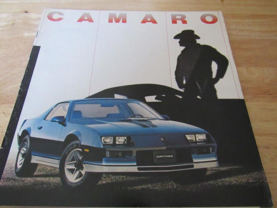 1982 Z28 Chevy Camaro Brochure