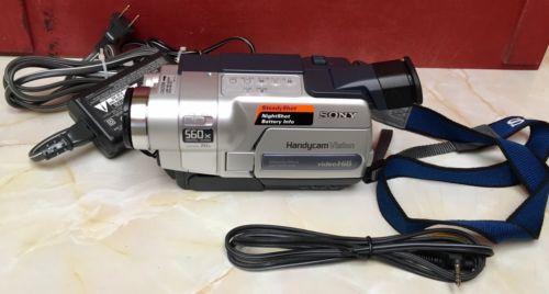 Sony Hi8 8mm CCD-TRV318 Handycam Video Camcorder Player Transfer Tapes