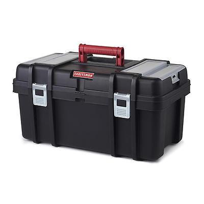 Large Mechanic Tool Box Portable Carry Handle Garage Tool Organizer Truck Use