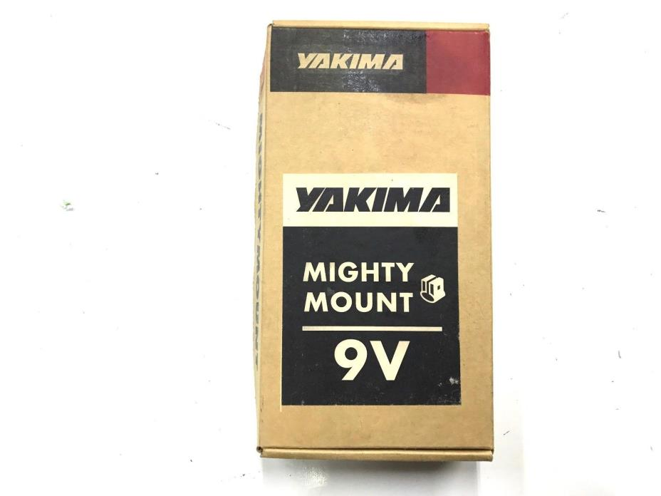 New YAKIMA #3509 Vertical MIGHTY MOUNT 9V SET OF 4 in Box