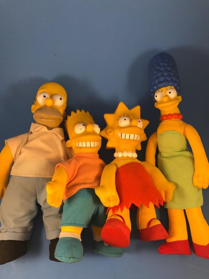 Homer, Marge, Bart, Lisa Simpson Doll